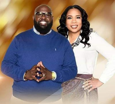Pastor Spence and Leading Lady Coylitia
