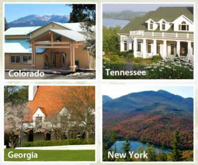 Explore Our Locations for SonScape Retreats
