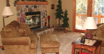 Cozy Living Room in Your Private Suite at Colorado Retreats